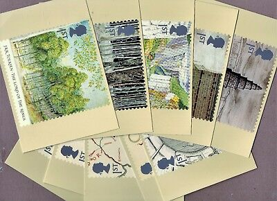 GB 2004 Lord Of The Rings. Set Of 10.Royal Mail PHQ Cards. J.R.Tolkien
