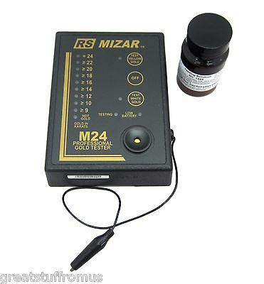 RS Mizar M24 Electronic Gold Tester - NEW