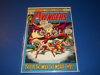 Avengers #104 Bronze Age Scarlet Witch VF-/VF Beauty Wow