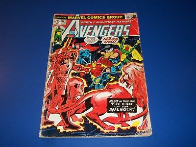 Avengers #112 Bronze Age 1st Mantis Key Wow Vision Scarlet Witch Low Grader