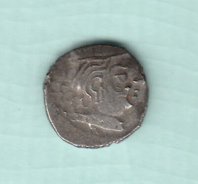 India 2000 Years Old Extremely RARE Western Kshatrapas Silver Ancient Coin 94