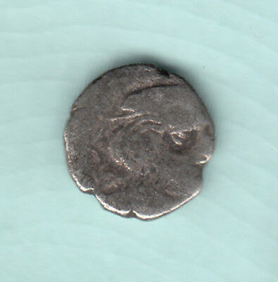 India 2000 Years Old Extremely RARE Western Kshatrapas Silver Ancient Coin 100