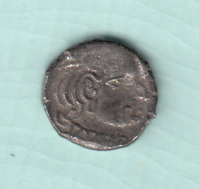 India 2000 Years Old Extremely RARE Western Kshatrapas Silver Ancient Coin A4