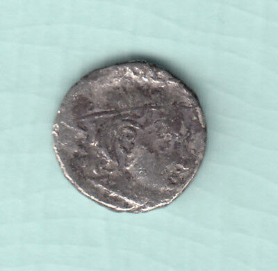 India 2000 Years Old Extremely RARE Western Kshatrapas Silver Ancient Coin A7