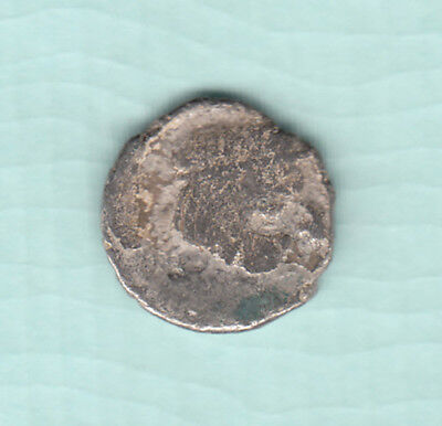 India 2000 Years Old Extremely RARE Western Kshatrapas Silver Ancient Coin A12