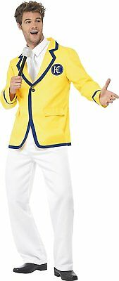 Smiffy's Men's Holiday Rep Costume, Jacket, Mock Shirt and trousers, Size:M, Col