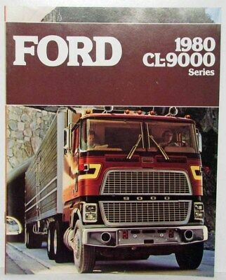 1980 Ford CL-9000 Series Truck Sales Brochure