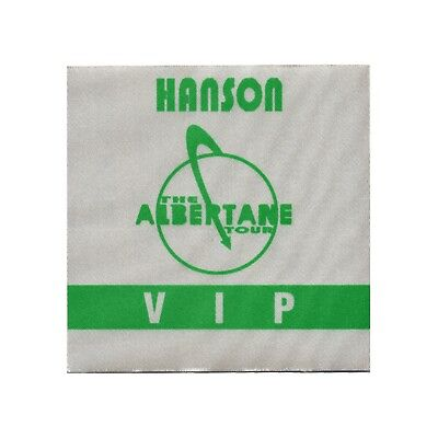 Hanson authentic VIP 1998 tour Backstage Pass