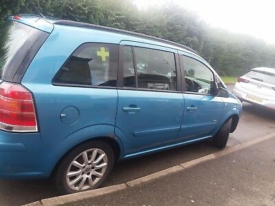 06 plate vauxhall zafira 1.6L Spares Repairs ONLY relisted- failure to collect