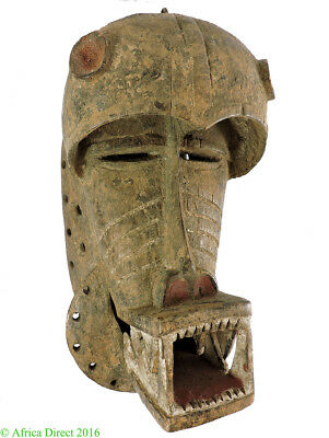 Dan We Guere Mask Monkey Liberia African Art  SALE WAS $450
