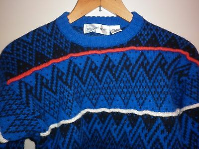 Vintage Paco Rabanne Size Small Wool Jumper Good Condition