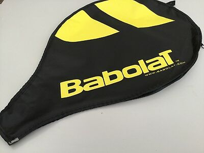 Babolat tennis racket cover tennis - Black & Yellow 18 inch by 11 inch