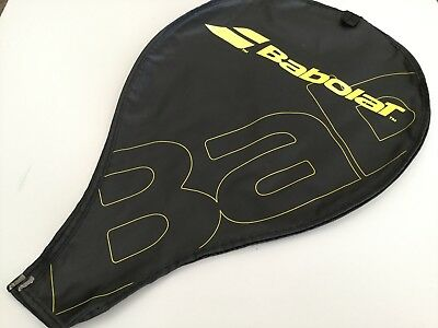 Babolat tennis racket cover tennis - Black & Yellow 20 inch by 12 inch