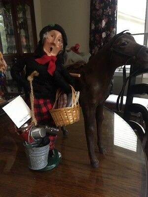 byers choice carolers Village Peddler Made Exclusively Gor Truffles PA
