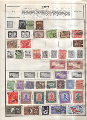 Nepal On Harris Album Pages 1886 To 1988!