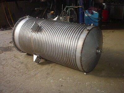 280 gallon Stainless steel JACKETED TANK