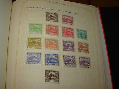 Springback Binder With Older Czechoslovakia Selection On Pages!