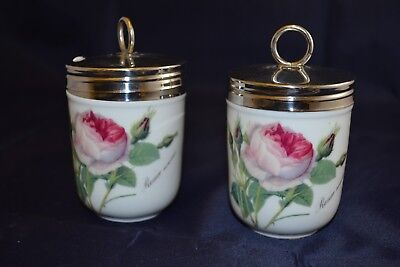 2x Redoute Roses by Roy Kirkham Decorative pots with lids ##RUGgac4jw