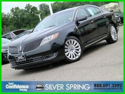 2015 Lincoln MKS Base Sedan 4-Door 2015 Used 3.7L V6 24V Automatic AWD Sedan Premium Moonroof