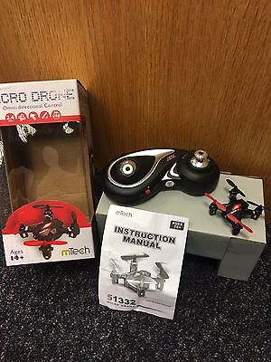 mTech Remote Control Micro Drone from Menkind
