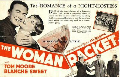 Blanche Sweet Is Part Of The Woman Racket Original Mgm U.s. Herald