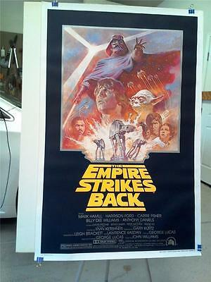 Star Wars The Empire Strikes Back Original 1981 Rolled Reissue Us One Sheet