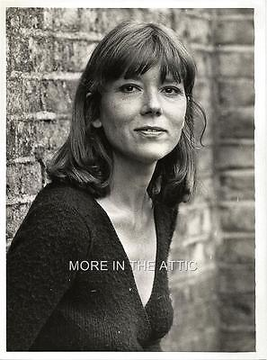 Young Cute Diana Rigg Of The Avengers Fame Original Vintage Portrait Still #1