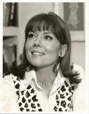 Young Cute Diana Rigg Of The Avengers Fame Original Vintage Portrait Still #3