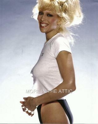 Sexy Busty Braless Judy Landers Gorgeous Fun Hollywood Portrait Photo