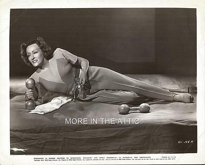 Silent Screen Star Gloria Swanson At 42 Orig Paramount Pictures Glamour Portrait