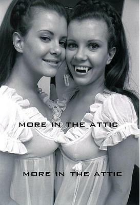 Universal Hammer Horror Collinson Twins Of Evil Candid Photo #1
