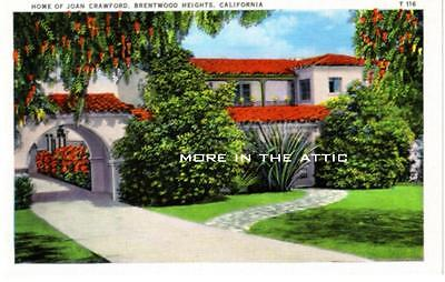 Welcome To The Home Of Movie Starlet Joan Crawford