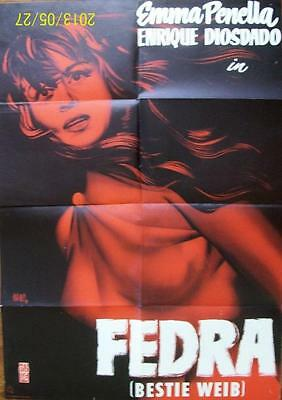 Young Sexy Spanish Born Beauty Emma Penella Orig Fedra German Movie Poster