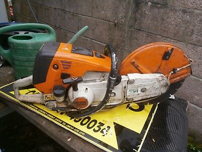 stihl disc cutter petrol TS700 with diamond disc fitted good working order