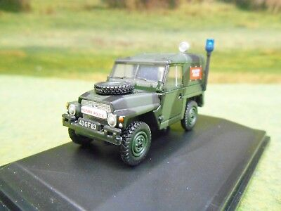 Oxford Land Rover Military 1/2 Ton Lightweight Military Police 1/76 76Lrl002