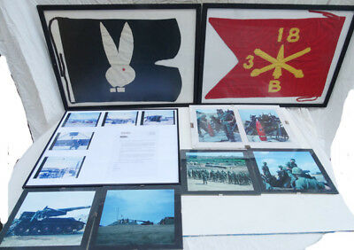 Documented Wartime Vietnamese Made Guidon´s / Flag