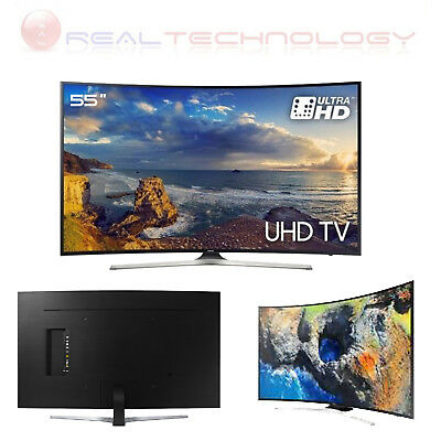 "Tv Led Samsung 55"" Ultra Hd 4K Smart Tv Curvo Ue55Mu6272"
