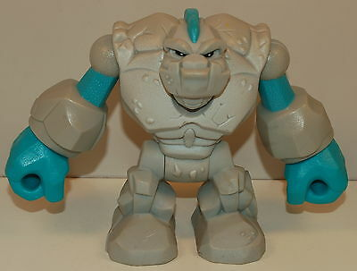 """2006 Tiny the Asteroid Rock 4.5"""" Planet Heroes Action Figure"""