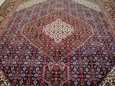 10X13 1960's BREATHTAKING MASTERPIECE MINT HAND KNOTTED WOOL TABRIZ PERSIAN RUG