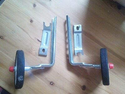 Bike Stabilisers for Kids Cycle VGC With All Brackets