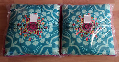 "TWO Disney Throw Pillows Wizards of Waverly Place New in Package 14"" Mod Zen"