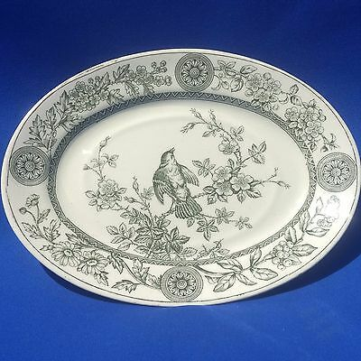 """Antique 1880s T.G & F.B. BOOTHS - RICHMOND - Small Platter / Serving Tray (8"""")"""