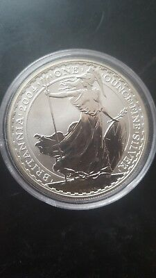 Solid silver proof £2 coin 2004