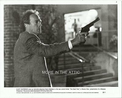 Clint Eastwood Is Dirty Harry Original Dead Pool Action Still