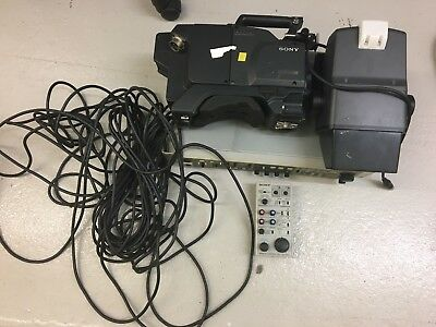 Complete Sony SDI Studio Camera Chain With CCU, RCP, viewfinder And Cables