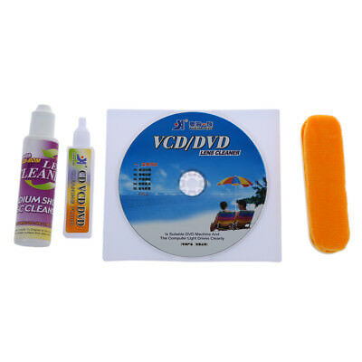 4 in 1 CD DVD Rom Player Maintenance Lens Cleaning Kit PF T1F8