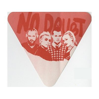 No Doubt Authentic 2002 Rocksteady Tour satin cloth Backstage Pass triangle