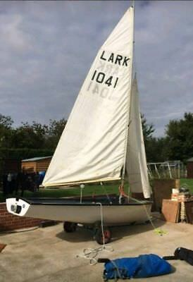 Lark Dinghy Sail Number 1319 (NOT THE BOAT IN THE PICTURE)