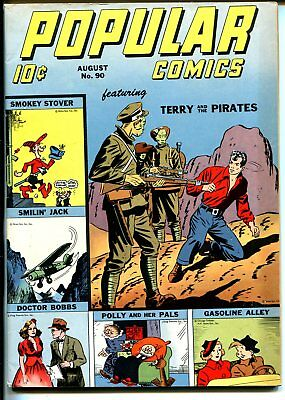 Popular #901943-Dell-WWII-Terry & Pirates-Caniff-Gasoline Alley-VF-