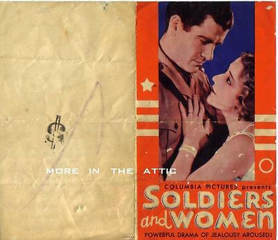 Aileen Pringle Grant Withers Original Columbia Pictures U.s. Herald
